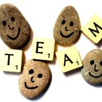 Happy Team rocks