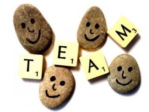 Happy Team rocks