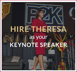 Hire Theresa Callahan as your Keynote Speaker